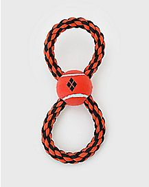 Harley Quinn Rope Dog Toy - DC Comics