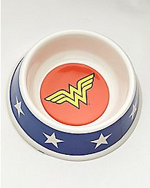 Wonder Woman Dog Bowl - DC Comics