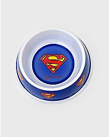 Superman Dog Bowl 16 oz. - DC Comics