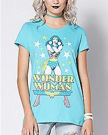 Classic Wonder Woman T Shirt - DC Comics