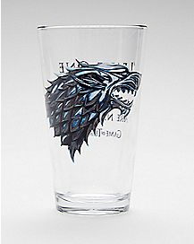House Stark Pint Glass 16 oz. - Game of Thrones