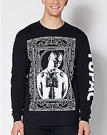Tupac Long Sleeve Shirt