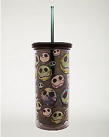 Jack Skellington Cup With Straw 20 oz. - The Nightmare Before Christmas