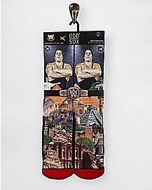 Andre The Giant Crew Socks - WWE