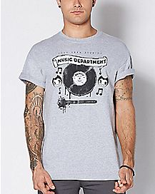 Bendy Music Department T Shirt - Bendy and the Ink Machine