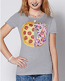 Pizza Donut T Shirt