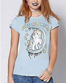 Cute But Weird T Shirt - My Little Pony