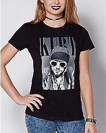 Sunglasses Kurt Cobain T Shirt
