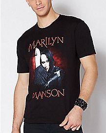Against the Wall Marilyn Manson T Shirt