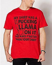 Fucking Llama T Shirt