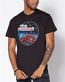 Space Foo Fighters T Shirt