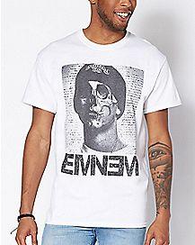 Skull Face Eminem T Shirt