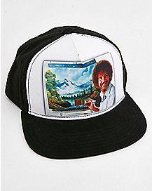 Bob Ross Snapback Hat