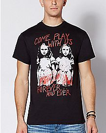 Come Play With Us The Shining Twins T Shirt - The Shining