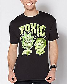 Toxic Rick and Morty T Shirt
