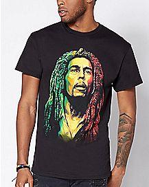 Rasta Art Bob Marley T Shirt
