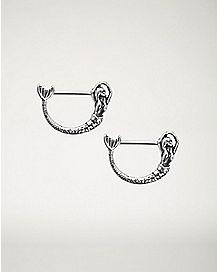 Mermaid Nipple Shields 1 Pair - 14 Gauge