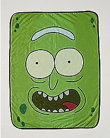 Pickle Rick Fleece Blanket - Rick and Morty