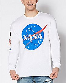 Long Sleeve NASA T Shirt