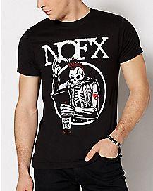 Old Skull NOFX T Shirt