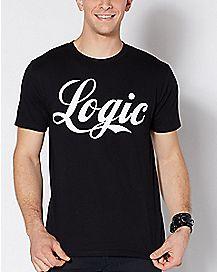 Script Logo Logic T Shirt