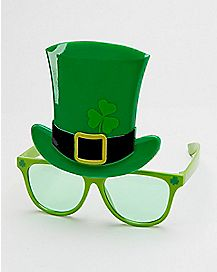 Top Hat Saint Patrick's Day Sunglasses