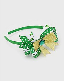 Bow Saint Patrick's Day Headband