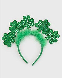 Sequin Shamrock Headband