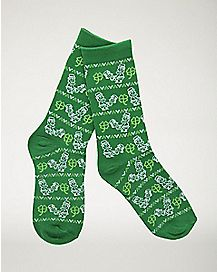 Humping Leprechaun Crew Socks