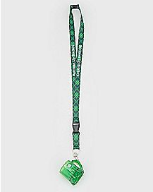 St. Patrick's Day Shot Glass Lanyard
