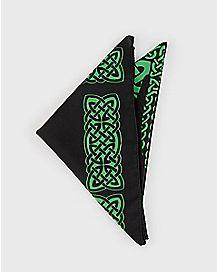 Celtic Shamrock Bandana