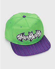 HAHAHAHA The Joker Batman Snapback Hat - DC Comics