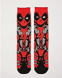 360 Deadpool Crew Socks - Marvel