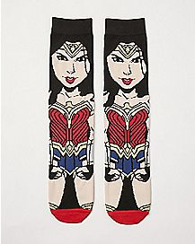 Wonder Woman Crew Socks - DC Comics