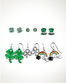 St. Patrick's Day Multi-Pack Earrings - 6 Pair