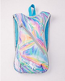 Unicorn Iridescent Hydration Backpack