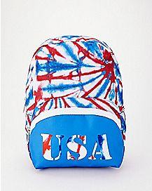 Tie Dye USA Mini Backpack