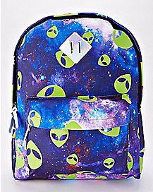 Glow In The Dark Alien Backpack