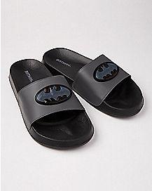 Batman Slide Sandals - DC Comics