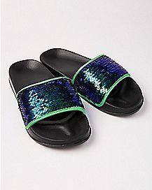 Magic Sequin Slide Sandals