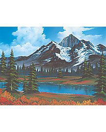 Spring Bob Ross Puzzle
