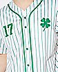 Light Up Shamrock Wasted Jersey Shirt