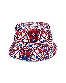 Americana Tie Dye Bucket Hat