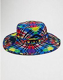 Rainbow Tie Dye Boonie Hat