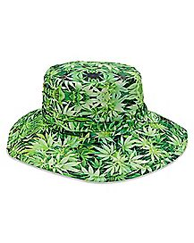Pot Leaf Boonie Hat