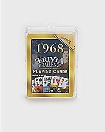 1968 Trivia Cards