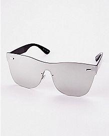 Mirror Flat Star Sunglasses