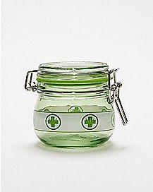 Green Cross Weed Storage Jar - 5 oz.