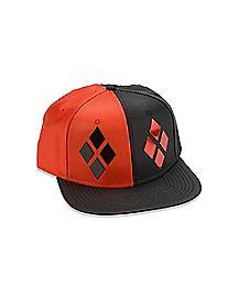 Diamond Harley Quinn Snapback Hat