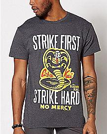 Strike First T Shirt - The Karate Kid